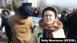 Участники субботнего пикета в Светлогорске