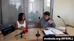 Belarus -The Femen activist Angelina Dias,