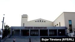 Teatri Kombëtar i Kosovës. Foto nga arkivi.