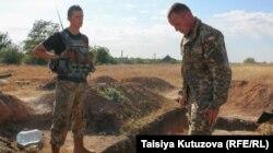 Нова українська форма на бійцях 72 окремої механізованої бригади. Волновахський район, 25 вересня 2015 року