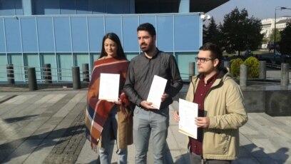 Amina Dizdar, Darko Pandurević i Rasim Ibrahimagić sa spiskom zahtjeva
