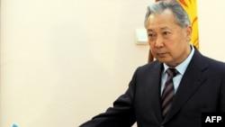 Ousted Kyrgyz President Kurmanbek Bakiev