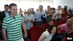 Prime Minister Nikola Gruevski visits Stip