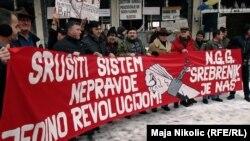 Fotogalerija: Protesti u Tuzli, Sarajevu, Banjaluci, Mostaru i Zenici, 7. februar 2015.