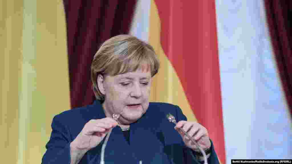 Канцлер Німеччини Анґела Меркель заявила, що Німеччина підтримуватиме продовження санкцій проти Росії