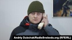 Богдан Марцоня під час телефонної розмови із президентом України. 2 березня 2018 року