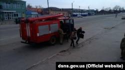 Як раніше повідомляв прем'єр Володимир Гройсман, пожежа у Балаклії на Харківщині може тривати до тижня