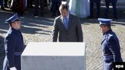 Premijer Srbije Aleksandar Vučić u Memorijalnom centru Potočari