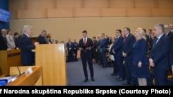 Mbledhja e Kuvendit të Republikës Serbe të Bosnjës.