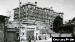 Шамов хастаханәсен сүрәтләгән тарихи фото