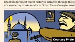 """""""Financial Times"""" qəzetindən görüntü"""