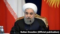 Hassan Rouhani, Bişkekdə, 23 dekabr 2016