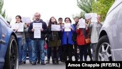 Антиправительственные акции в Ереване