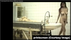 """Кадр из фильма """"Японец"""" сериала """"Сумасшедший принц"""".1988 год"""