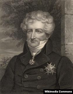 Жорж Кювье (1769–1832). Гравюра Джеймса Томсона