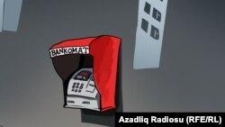 """""""ATM"""". Karikatura."""
