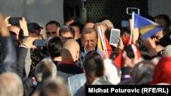 Redžep Tajip Erdoan u posjeti Sarajevu i BiH 2015. godine