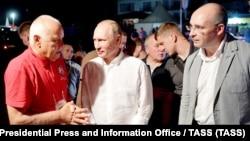 Дмитрий Киселев, Владимир Путин и Андрей Кондрашов