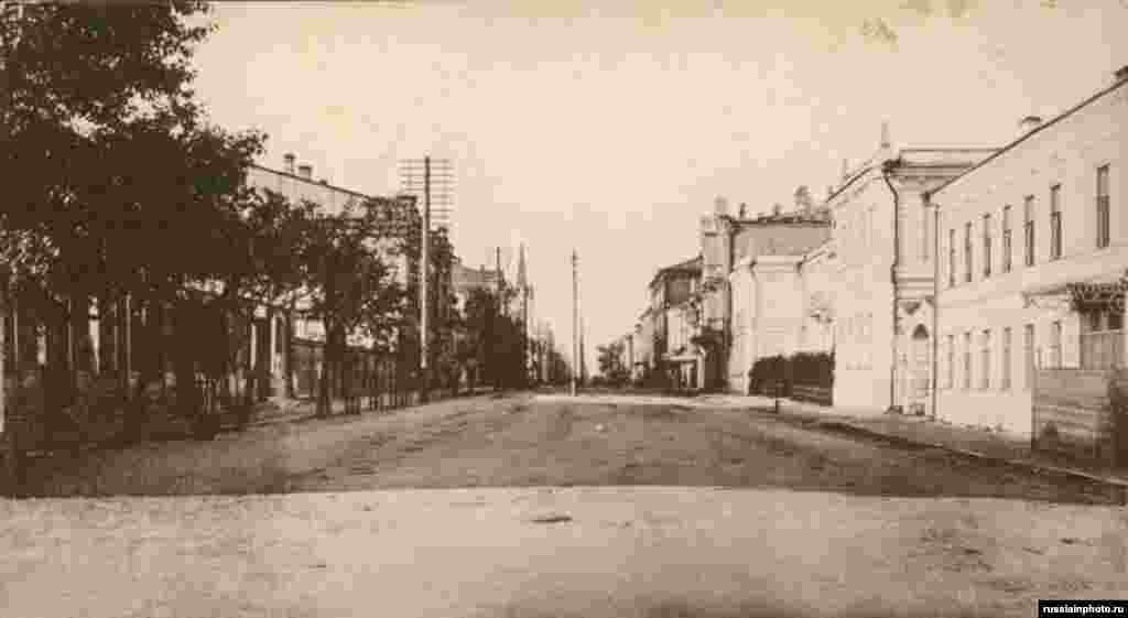 Дворянская улица, Самара, 1904