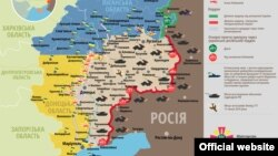 Ситуація в зоні бойових дій на Донбасі, 27 липня 2015 року