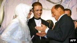 مراسم ازدواج بلال اردوغان در سال ۲۰۰۳ با حضور نخستوزیر وقت ایتالیا سیلویو برلوسکونی