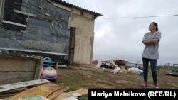 «Колос» саяжайының тұрғыны Салтанат Қуанышәлиева. Батыс Қазақстан облысы, 14 қараша, 2019 жыл.