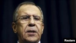 Министр иностранных дел России Сергей Лавров. Сочи, 24 ноября 2015 года.