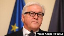 Германскиот министер за надворешни работи Франк-Валтер Штајнмаер