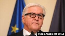 Чинний голова ОБСЄ, очільник МЗС Німеччини Франк-Вальтер Штайнмаєр