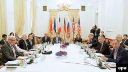 Учасники переговорів у Відні, 7 липня 2015 року