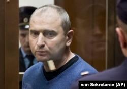 Владимир Аникеев в суде, 6 июля 2017 года
