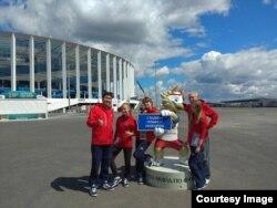Cыргак и другие волонтеры