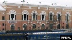 Віцебскі вакзал, архіўнае фота