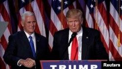 ترمپ: من رئیس جمهور همۀ امریکایی ها خواهم بود.