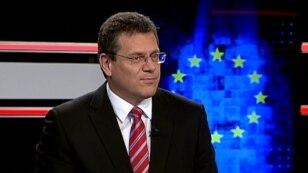 Avropa Komissiyasının vise-prezidenti və enerji komissarı Maros Sefcovic.