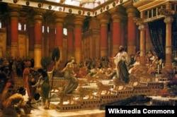 Эдвард Джон Пойнтэр, «Візыт Царыцы Саўскай да цара Салямона».
