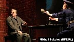 Сцена из спектакля Марка Розовского «Папа, мама, я и Сталин»