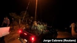 Detalj sa mesta nesreće u mestu San Matias