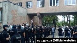 У Харкові поліція розслідує сутички біля диспансера, 22 червня 2020 року