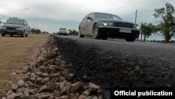 Строительство автодороги Балыкчи-Корумду.
