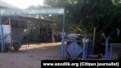 Один из детских садов в Узбекистане.