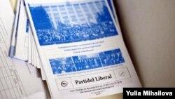 Platforma Partidului Liberal în alegerile din aprilie 2009