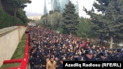 Şəhidlər Xiyabanı - 20 yanvar 2016