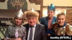 Айгөл Хәйри (с), Рубин Абдуллин, Ирек Фәттахов һәм Айрат Ганиев