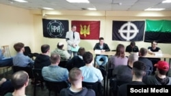 Конференция русских националистов в Москве, 1 мая 2018