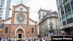 Papa Francisc la catedrala Sf.Iosif de la București, 31 mai 2019