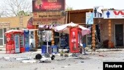 Уламки після вибуху в Луксорі, 10 червня 2015 року