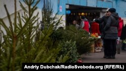 Ялинковий базар у Києві, архівне фото
