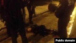 Вибух у Харкові, поранена жінка, 19 січня 2015 (фото з twitter: IT Sector Харьков)