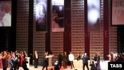 """Сцена из 2 акта оперы """"Тангейзер"""" Новосибирского оперного театра: Тангейзер на кинофестивале"""